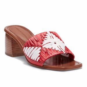 Sigerson Morrison Marnin Heeled Slide Sandals